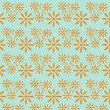 Modèle de fleurs de marguerite Photos stock