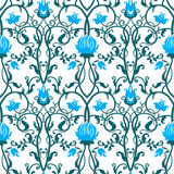 Modèle de fleurs de vintage de vecteur Rétro texture sans joint Photographie stock libre de droits