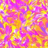 Modèle de fleurs lumineux Images stock