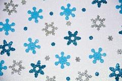 Modèle de flocon de neige d'étincelle Photo stock