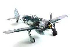 Modèle de Focke Wulf Fw-190 Images libres de droits