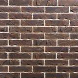 Modèle de fond de brique de brun foncé Image libre de droits