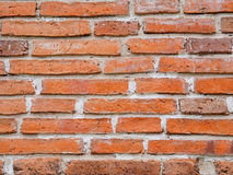Modèle de fond brun antique de mur de briques Photos stock