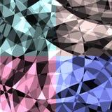 Modèle de fond de Diamond Glass Images libres de droits