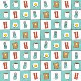 Modèle de fond de wagon-restaurant Images libres de droits