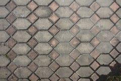 Modèle de fond gris de texture de bloc de brique Photographie stock
