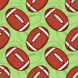 Modèle de football américain - sport - #3 Image libre de droits