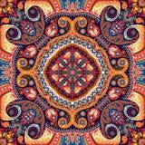 Modèle de foulard illustration stock