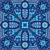 Modèle de foulard de place de Boho Paisley Photos stock