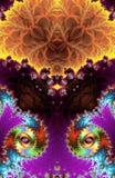 Modèle de fractale Illustration Photo stock
