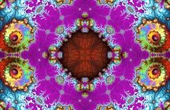 Modèle de fractale Illustration Image stock