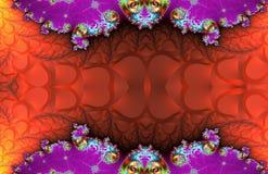 Modèle de fractale Illustration Image libre de droits