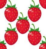 Modèle de fraise d'impression Images stock