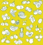Modèle de fruit Illustration Stock