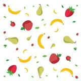 Modèle de fruits Photo libre de droits