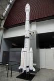 Modèle de fusées chinois de l'espace de cz-3b Images stock