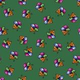Modèle de gemme Image stock