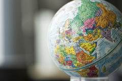 Modèle de globe Photographie stock