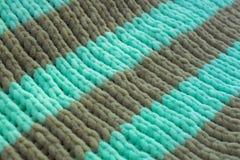 Modèle de gomme tricoté par tissu photographie stock libre de droits