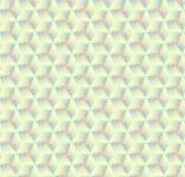 Modèle de gradient de couleur de triangle Illustration Stock