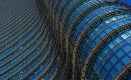 Modèle de gratte-ciel Photographie stock libre de droits