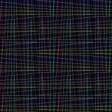 Modèle de grille irrégulier sans couture de fil image libre de droits