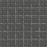 Modèle de grille sans couture Monochrome Dots Background de vecteur Illustration de Vecteur