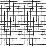 Modèle de grille Texture tirée par la main Image libre de droits