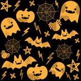 Modèle de Halloween Photographie stock