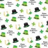 Modèle de jour du ` s de St Patrick illustration libre de droits