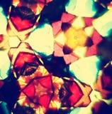 Modèle de kaléidoscope Photographie stock libre de droits