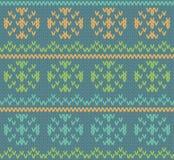 Modèle de Knit Photos libres de droits