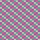 Modèle de Knit Images libres de droits