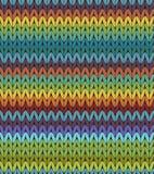 Modèle de Knit Photographie stock