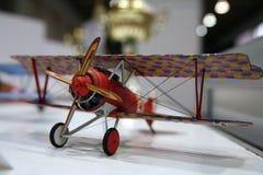 Modèle de l'avion WW1 Photographie stock libre de droits