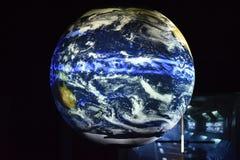 Modèle de la terre photographie stock