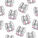 Modèle de lapin Images stock