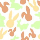 Modèle de lapin Illustration de vecteur de chasse à oeuf de pâques pour l'insecte, conception, scrapbooking, affiche, bannière, é illustration stock