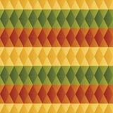 Modèle de losange coloré Photos stock