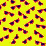 Modèle de lunettes de soleil Photo stock