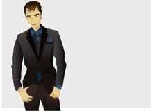 modèle de mâle de mode Photos libres de droits