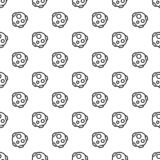 Modèle de météorite sans couture illustration stock