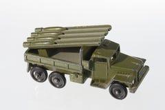 Modèle de machine militaire Images libres de droits
