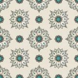 Modèle de mandala sans couture Photographie stock libre de droits