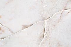 Modèle de marbre abstrait extérieur de plan rapproché au fond en pierre de marbre criqué de texture de plancher images libres de droits