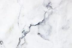 Modèle de marbre blanc de fond de texture Image stock