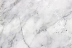 Modèle de marbre blanc de fond de texture avec la haute résolution photos stock