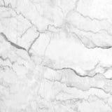 Modèle de marbre blanc de fond de texture avec la haute résolution Image libre de droits