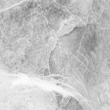 Modèle de marbre extérieur de plan rapproché au fond de marbre de texture de mur en pierre dans le ton noir et blanc Photographie stock