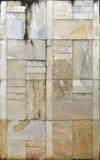 Modèle de marbre jaune Image libre de droits